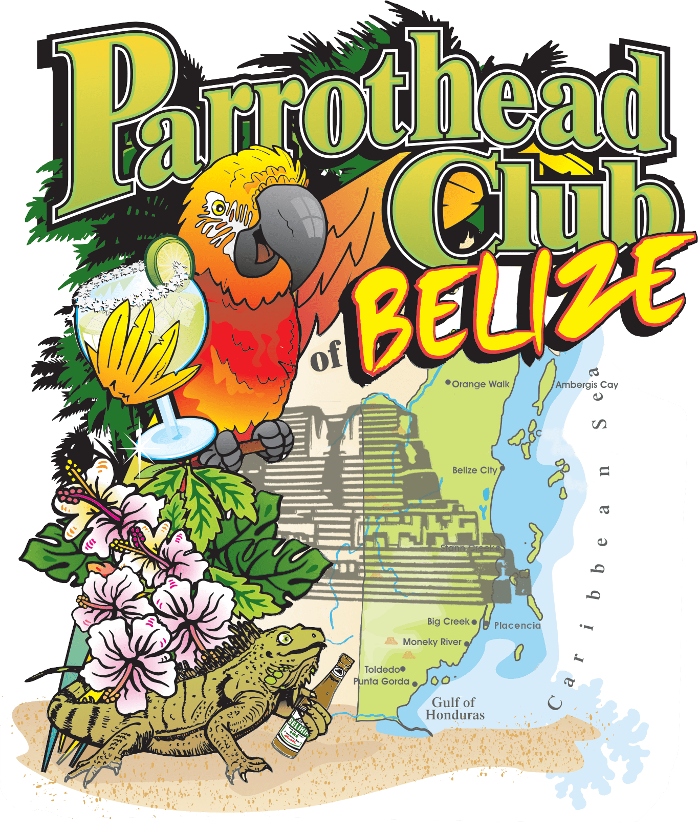 PARROTHEAD CLUB OF BELIZE transparent